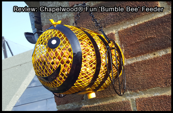 Review: Chapelwood® Fun 'Bumble Bee' Feeder