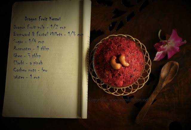 Dragon Fruit Kesari