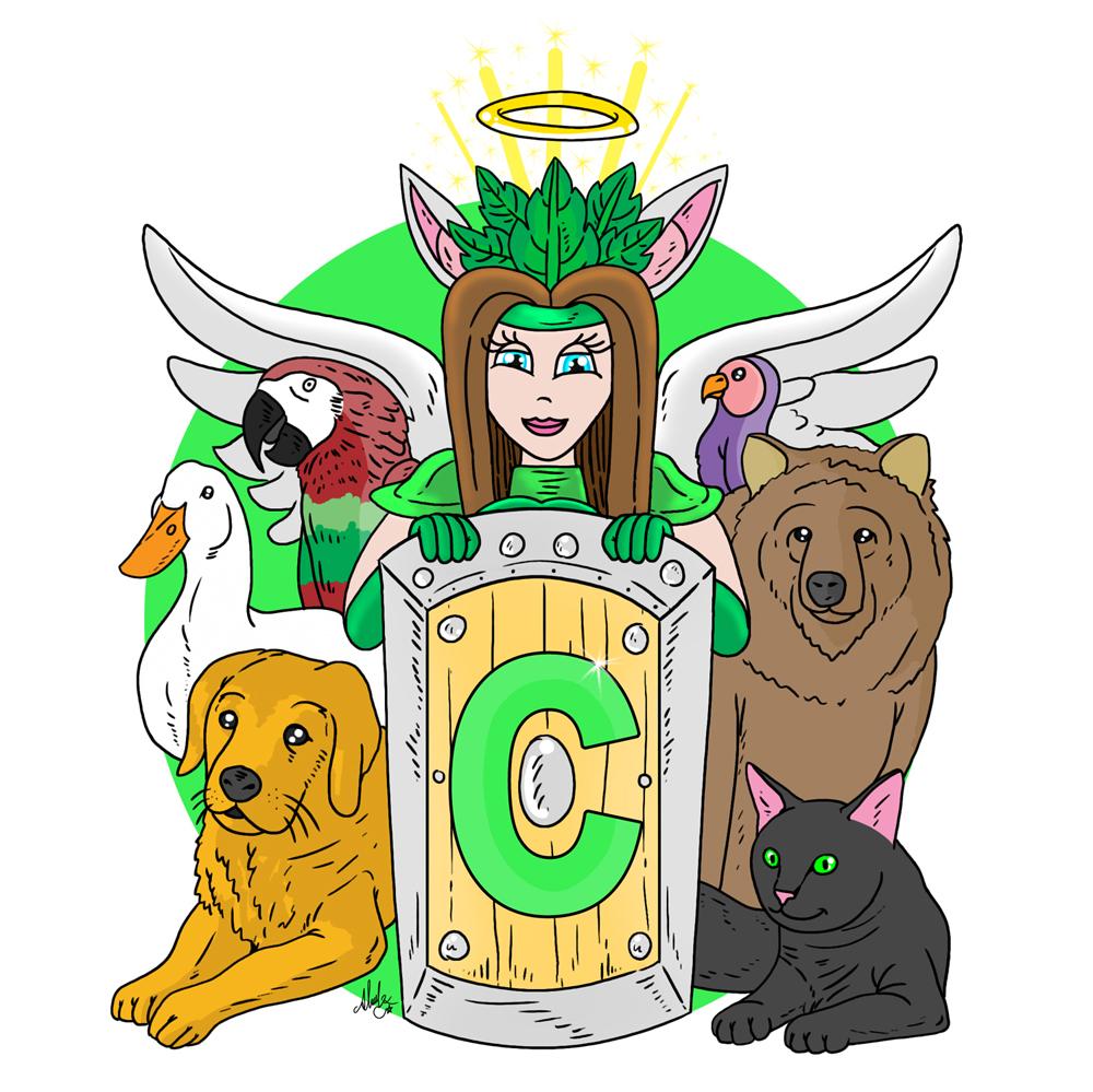 cahide, İllustrasyon, Hayvanlar, hayvan sever, canlı hayatını iyileştirme derneği,çizim, sosyal medya için,sosyal medya, facebook sayfası için,