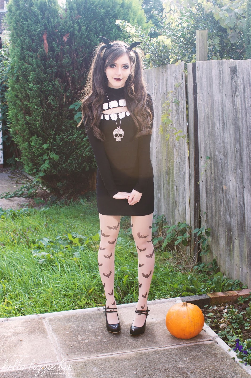 kawaii bat outfit, jfashion, nugoth