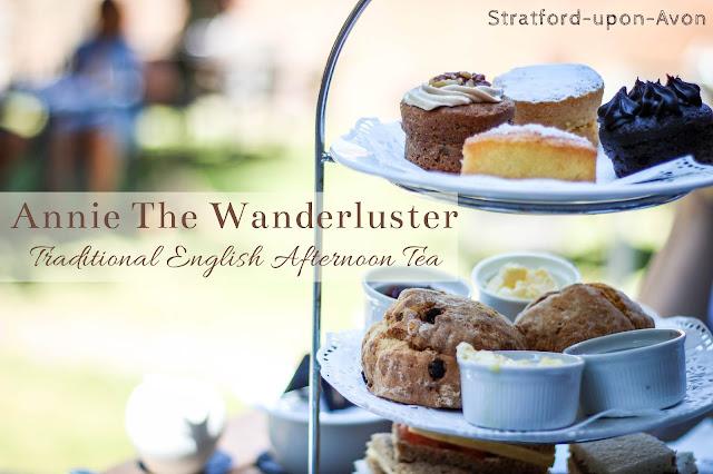 柯茲沃小鎮史特拉福Stratford-upon-Avon 英式下午茶