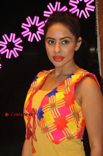 Telugu Actress Model Sri Reddy Latest Stills in Yellow Dress  0013.JPG