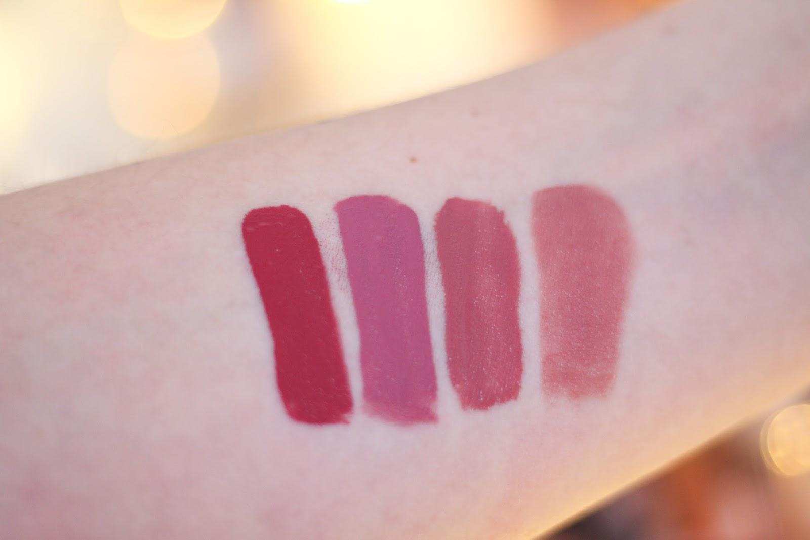 Nude Lipstick Swatches
