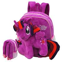 MLP Fake Twilight Sparkle Plush Backpack