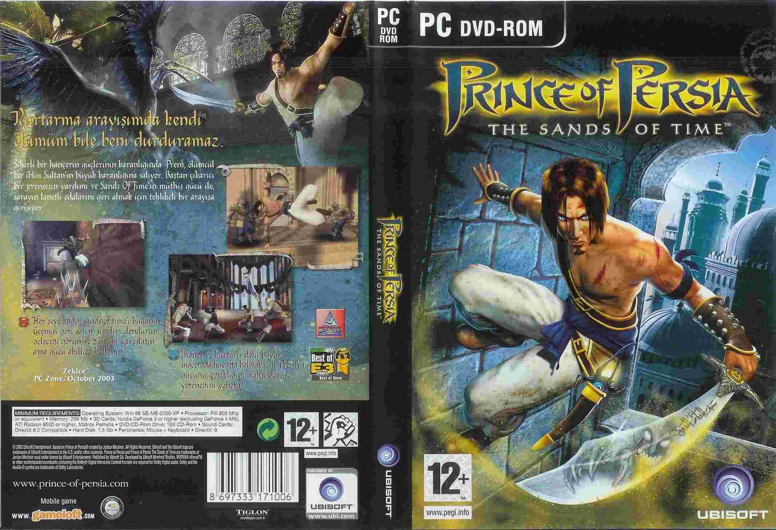 Game Games Prince Of Persia Sands Of Time