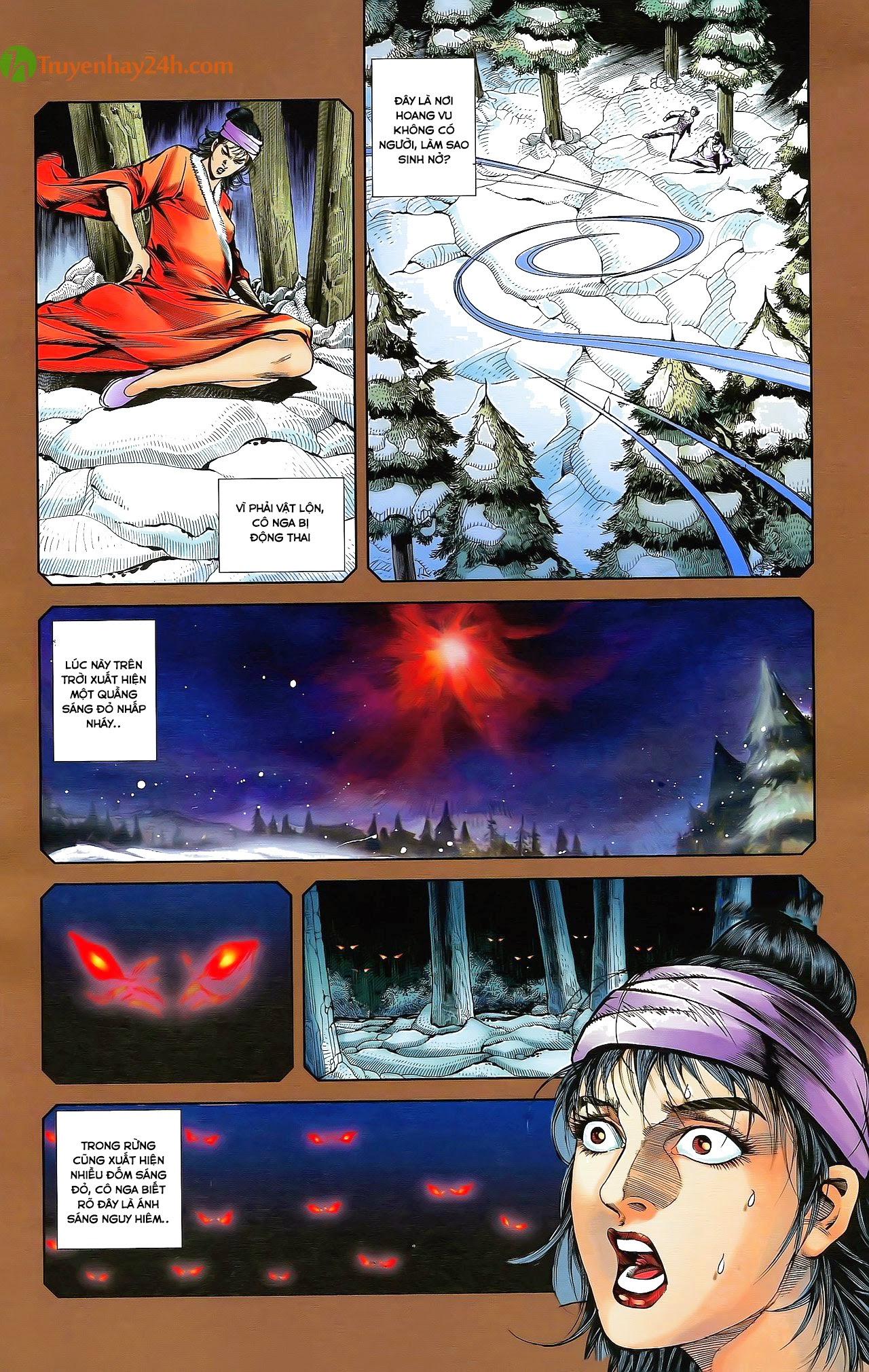 Tần Vương Doanh Chính chapter 29.2 trang 12