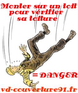 DANGER TOITURE