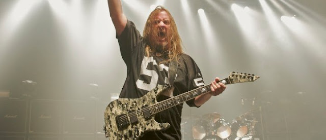 Penyebab Kematian Gitaris Slayer 'Jeff Hanneman'