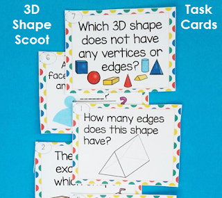 3D Shape Scoot game