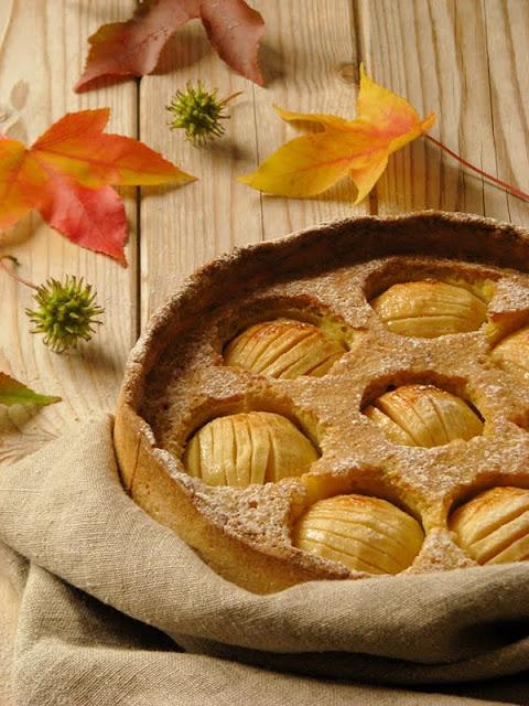 recette facile de gâteau d'automne aux pommes