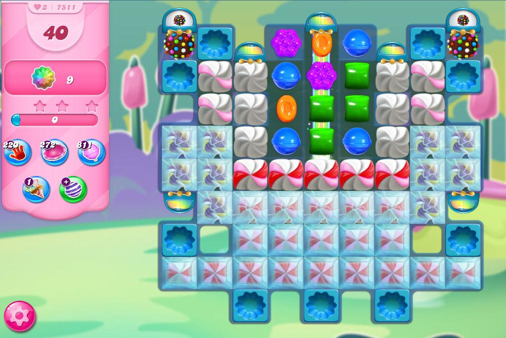 Candy Crush Saga level 7511