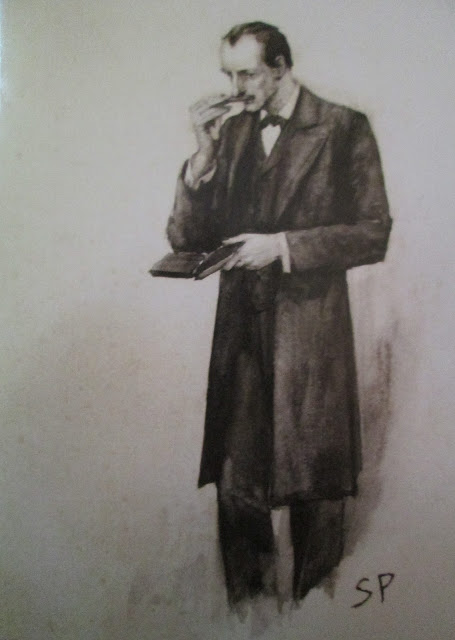 "Original Sidney Paget for ""The Resident Patient"""