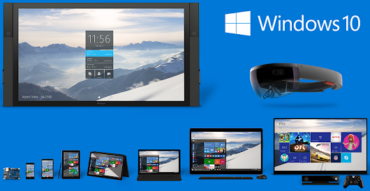 Download Windows 10 Preview 15031 ISO 64-bit / 32-bit Free - Direct Links