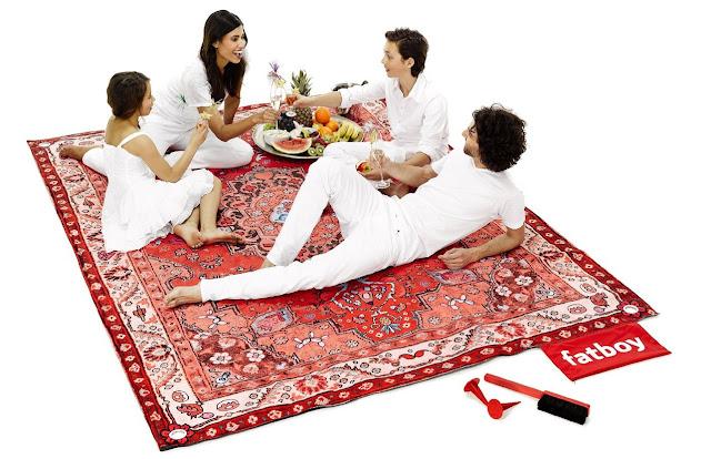 Die Fatboy Picknickdecke Picnic Lounge | Das Gadget des Tages