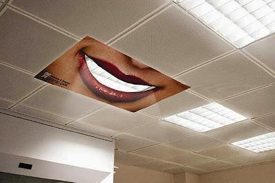 Anuncios creativos en publico