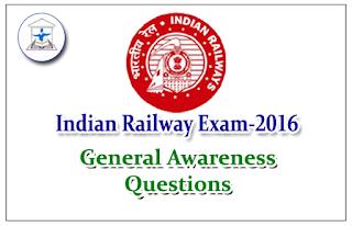 Railway Exam General Awareness Questions Set-2