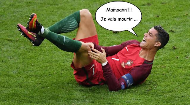 Blessure Ronaldo