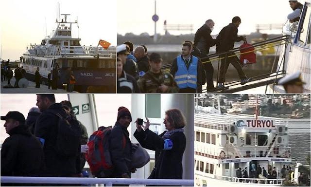 """Προβοκάτσια της Τουρκίας στη συμφωνία επαναπροώθησης μετατρέπει σε """"βόμβα"""" τους """"πρόσφυγες"""" στην Ελλάδα"""