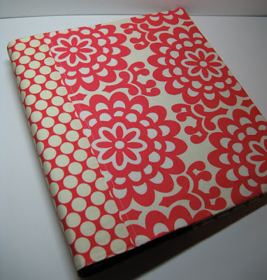 3-ring binder cover