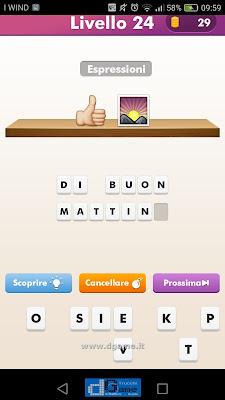 Emoji Quiz soluzione livello  24