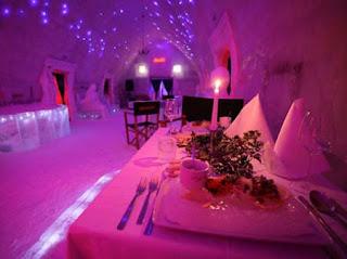 hotel de hielo en rumania