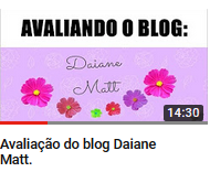 Blog Daiane Matt