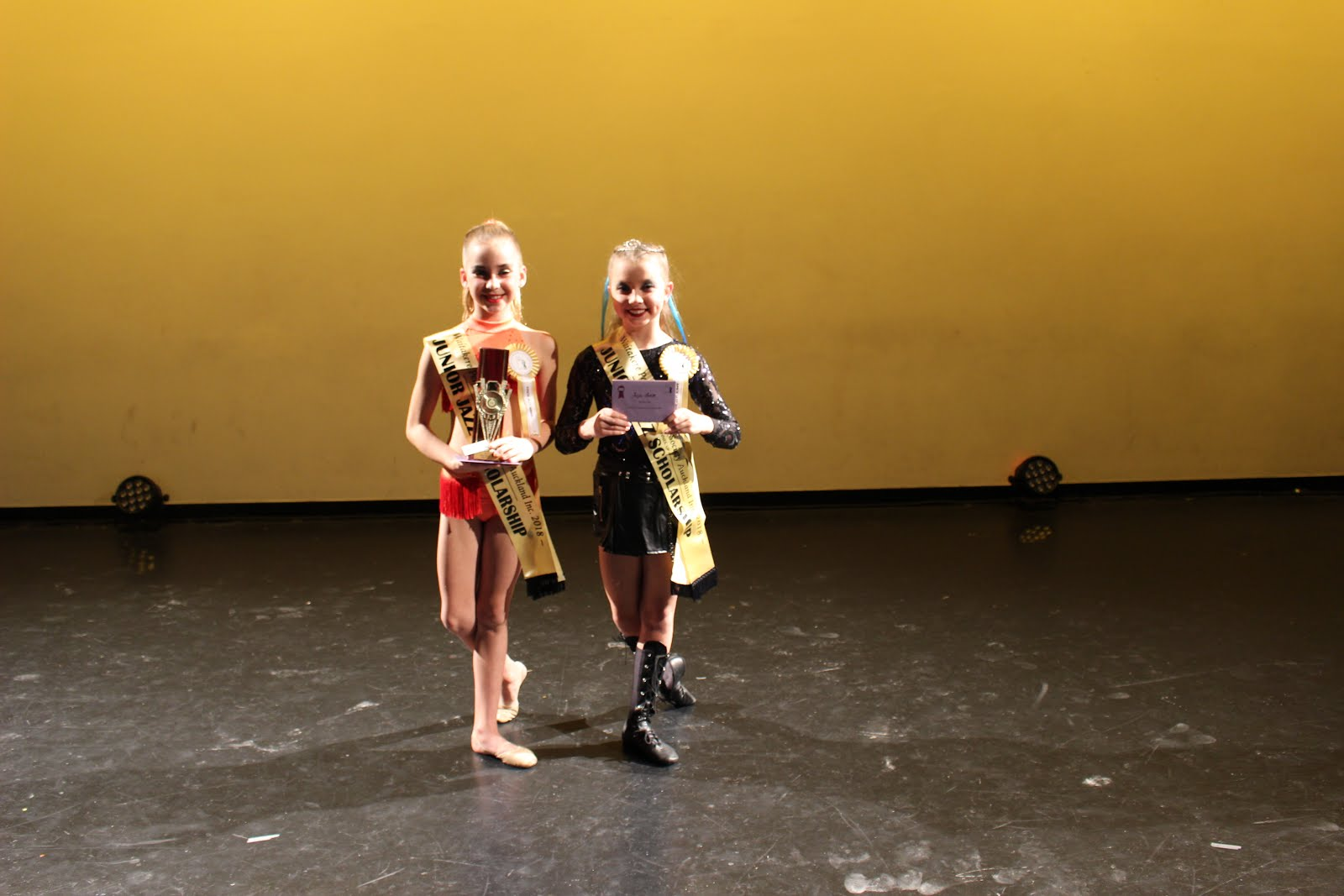 Junior Jazz Scholarship 10 & u/12yrs