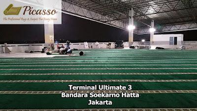 Karpet sajadah polos, Corak karpet masjid, Karpet Masjid Import