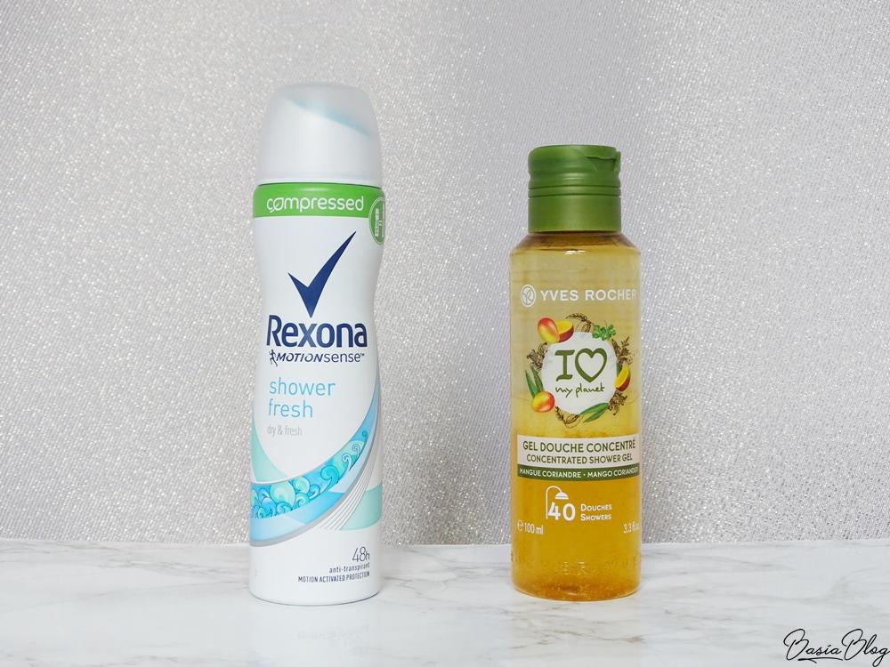 Hity na wyjazd - skoncentrowany żel pod prysznic, skompresowany antyperspirant