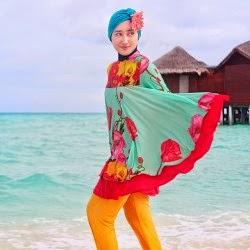 baju renang muslimah desainer dian pelangi