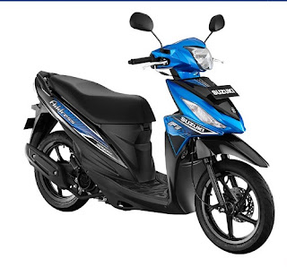 Suzuki Address Warna Triton Blue