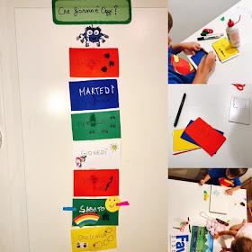 Come creare un calendario settimanale per i bambini