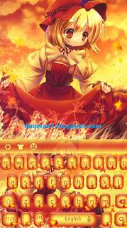 tema android anime autumn