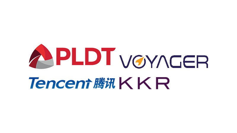 PLDT's Voyager seals USD175-million deal with KKR, Tencent