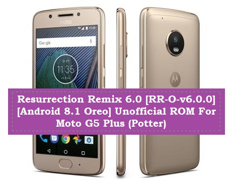 Resurrection Remix 6 0 [RR-O-v6 0 0] [Android 8 1 Oreo