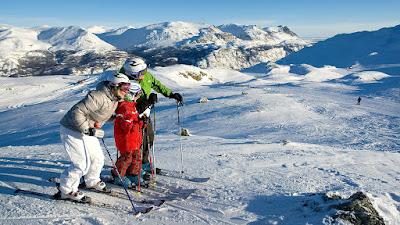 Hoteles en Noruega: Resorts de esquí Hemsedal y Geilo