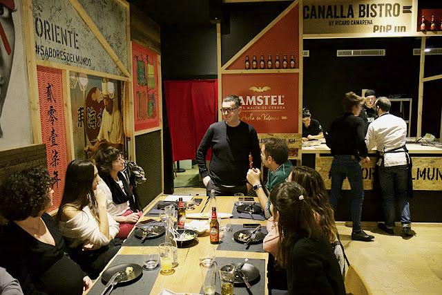 Canalla Bistro Pop Up: el nuevo espacio gastronómico efímero de Ricard Camarena