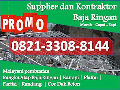 harga baja ringan merk prima murah telp wa 0821 3308 8144 kekurangan canopy