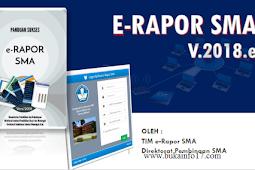 Download Aplikasi E-Rapor SMA 2018 V.2018.e