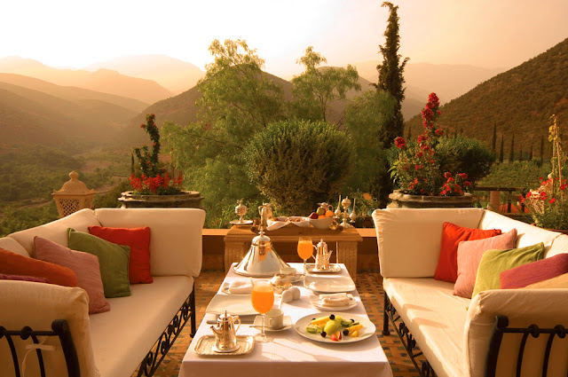 Kasbah Tamadot - Morocco