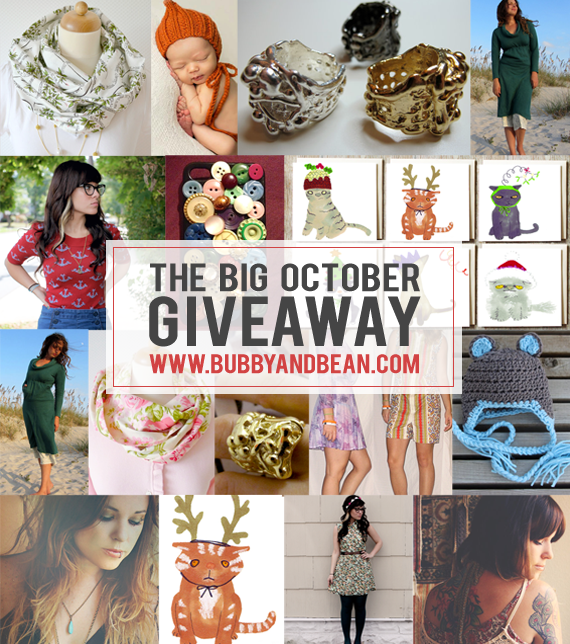 The Bubby and Bean Big October Giveaway // Win a $430 Prize Package!