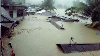 Chúa trung tín trong mọi lời Chúa phán: Indonesia lũ ngập nóc nhà