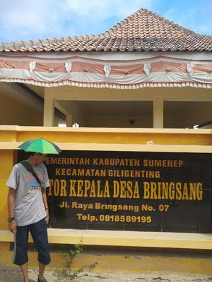 Kantor Kepala Desa Bringsang, Sumenep, Madura