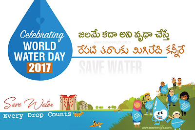 world-water-day-2017-telugu-slogans-and-posters