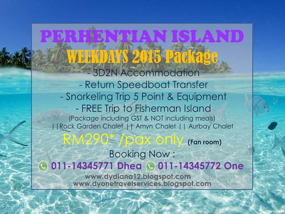 Pulau perhentian kecil package
