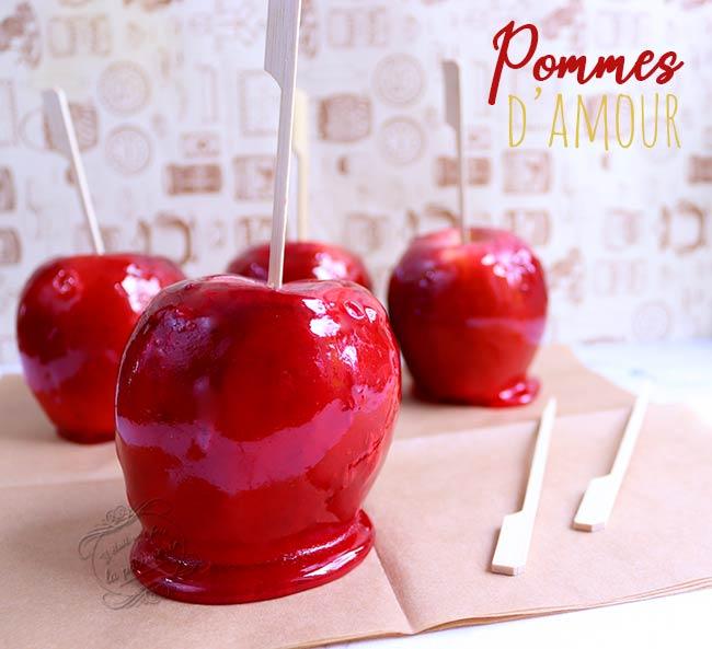 pomme d'amour recette