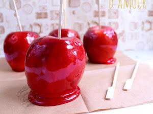 Recette des pommes d'amour