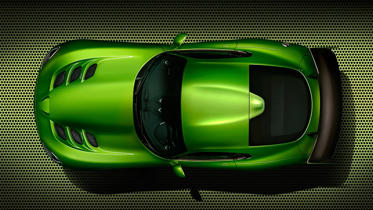 Stryker Green  2014 SRT Viper top