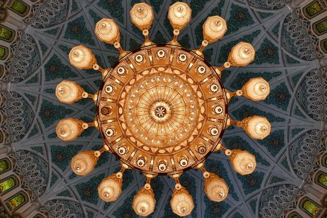 Oman, Roadtrip, Leuchter, Moschee, Muscat, Sultan Qaboos, Swarovski