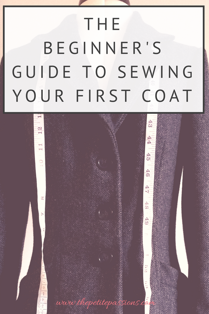 The Beginner's Guide to Sewing Your First Coat